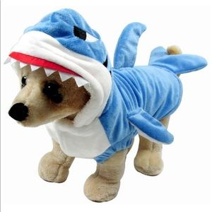 Super soft and cute Shark costume for your dog